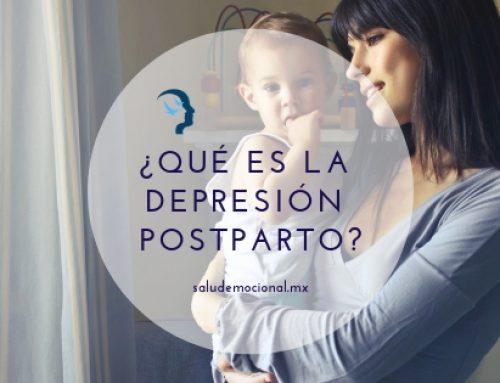Depresión postparto ¿Qué es?